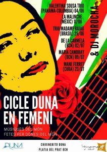 La Malinche Cantante Mexicana - Poster duna