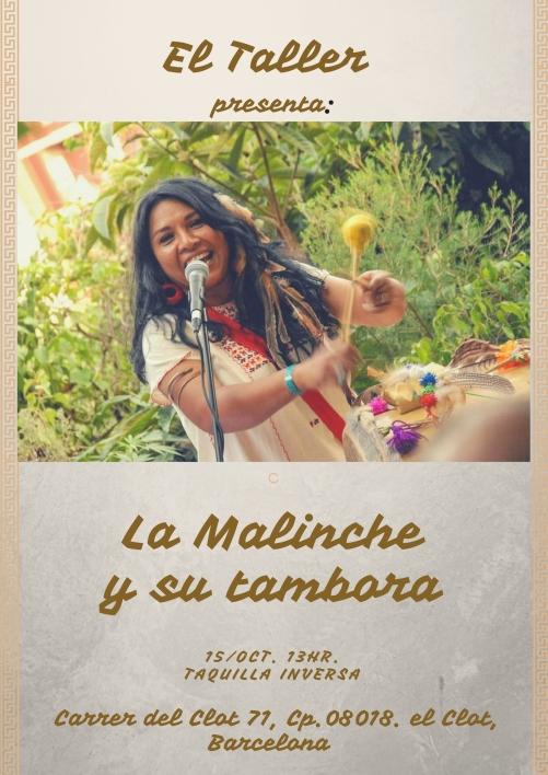 LA MALINCHEY SU TAMBORA