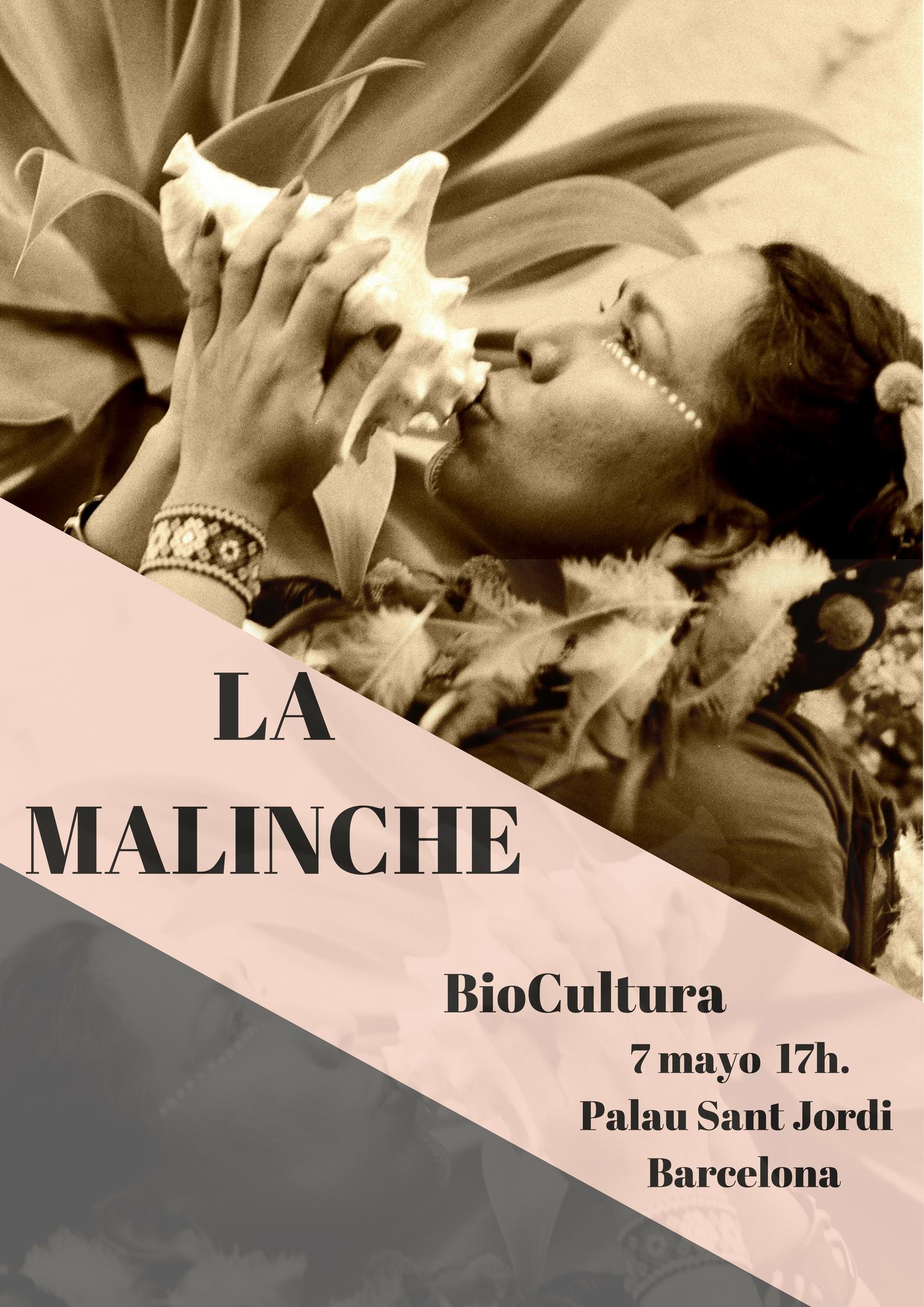 La Malinche Cantante Mexicana - Poster BioCultura